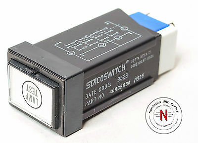 Stacoswitch 40Rbs08A/1328 Avionics Switch, New