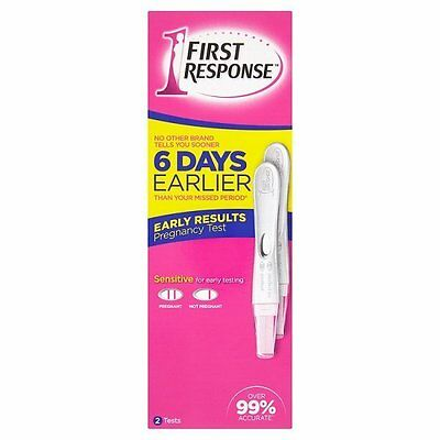 First Response Pregnancy Test - 2 Tests in 1 pack