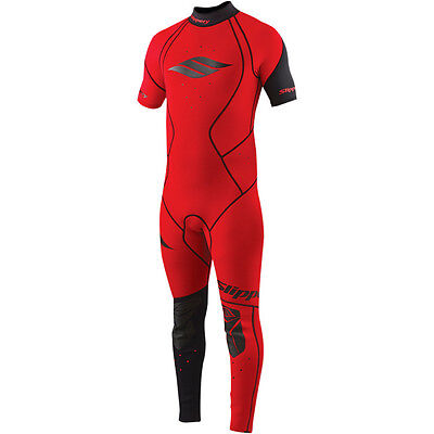 Slippery Fuse 2015 Wetsuit & Jacket Red LG