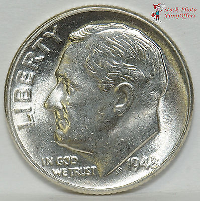 1948-S Roosevelt Dime – BU – SILVER!