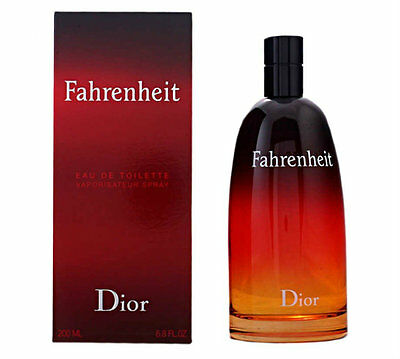 Christian Dior Fahrenheit 200ml EDT Spray for Men Brand New Sealed