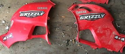 2011 Yamaha Grizzly 700 Side Covers Tank Panel Shroud Engine Covers Left & Right
