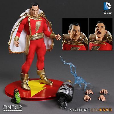 ONE:12 COLLECTIVE SHAZAM 1:12 Scale Action Figure MEZCO NEW IN STOCK