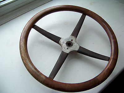 1923 1924 Chevrolet Superior Steering Wheel, Walnut, Wood Only 1925 1920's