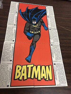 1966 DELUXE REISSUE BATMAN TRADING CARDS-10 PIECE-Batman Complete -TOPPS