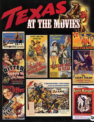 "Texas at the Movies 488 Posters Reproduced *NEW & UNREAD* 11""x9"" Book 1950s/60s"