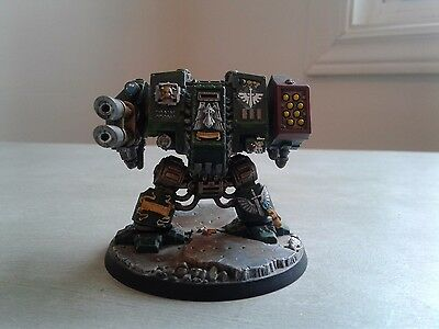 Nicely Painted Dark Angels Dreadnought Warhammer 40k