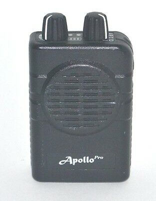 Apollo VP200 pro v2.01  2 channel  UHF 460-470 MHz  stored voice pager