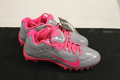 Nike Women's Speedlax 4 Stealth Pink Flash 5.5M US Cleats Lacrosse