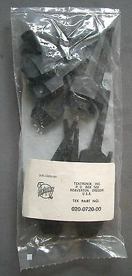 Tektronix TEK 020-0720-00 Logic probe clips, Set of 12 206-0222-00, New, Sealed