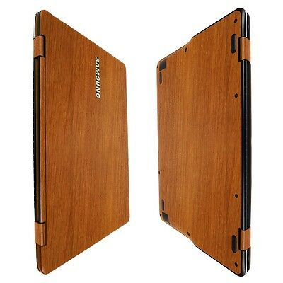 """Skinomi Light Wood Skin+Clear Screen Protector For Samsung Notebook 9 Spin 13.3"""""""
