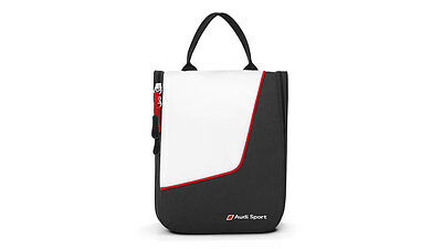 Audi Sport Wash Center Toiletry bags Cosmetic bag - white black - 3151600300