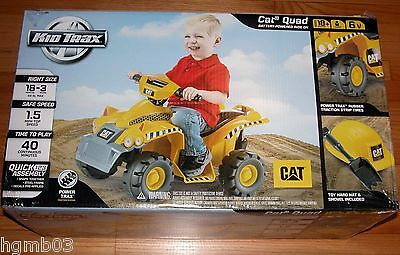Kid Trax Cat  6V Ride On Quad Kt1153Tg
