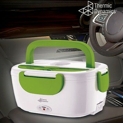 Cars Lunch Box Electric Food Warmer Heated Portable Compact Insulated Reusable