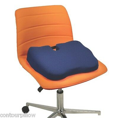 Kabooti Seat Cushion - Combines Donut, Coccyx and Wedge Orthopedic Chair Cushion