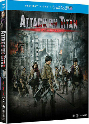 Attack On Titan The Movie: Part 2 (2016, REGION A Blu-ray New)
