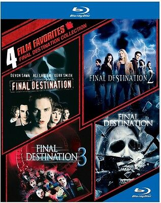 4 Film Favorites: Final Destination Collection (2014, REGION A Blu-ray New)