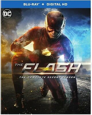 Flash: The Complete Second Season - 4 DISC SET (2016, REGION A Blu-ray New)