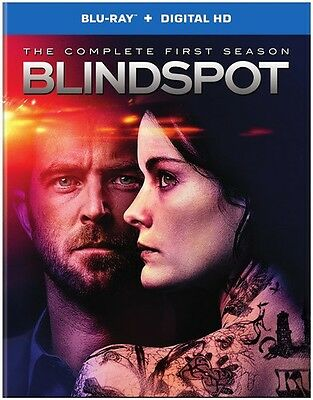 Blindspot: The Complete First Season (2016, REGION A Blu-ray New)
