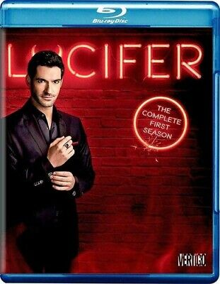 Lucifer: The Complete First Season - 3 DISC SET (2016, REGION A Blu-ray New)