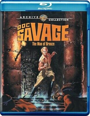 Doc Savage: The Man Of Bronze (1975) (2016, REGION A Blu-ray New)