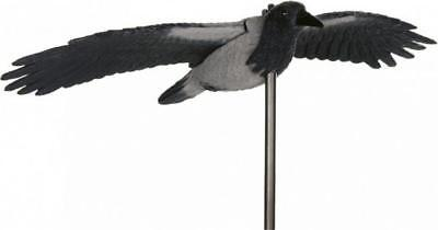 Crow In Flight Bollard Repellent Seagulls And Birds Boating Sailing Boat