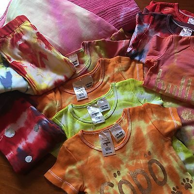 FINAL CLEARANCE Bulk Lot - Tie Dye Baby Clothing - Size 00 - 15 Items
