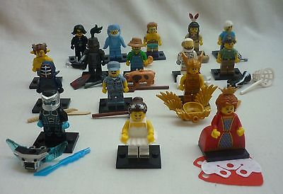 Lego 71011 Series 15 Minifigures - Full Set of 16 (New/Packets Opened)