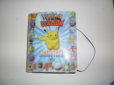Pokemon Stadium - Action 3D's: Collector's Record COMPLETE 51/51