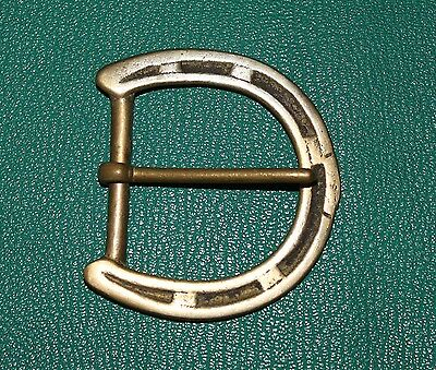 Solid brass vintage re enactment buckle 45mm