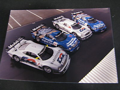 Photo 4x Mercedes-Benz CLK-GTR 1998 #1 / #2 / #11 / #12 (MBC)