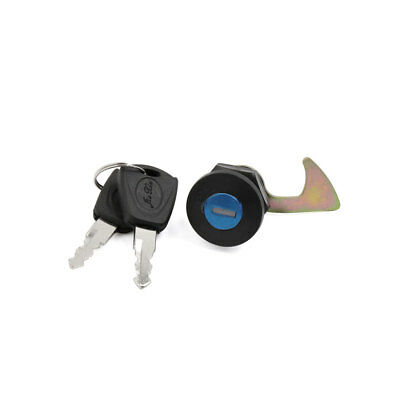 24mm Dia Thread Rear Truck Security Lock w Keys for Scooter Motorcycle