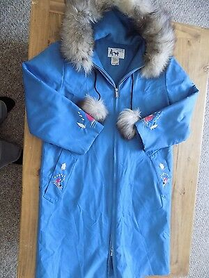 Vintage Ladies Size Large Women's Parka Bayview Crafts St Lunaire Newfoundland