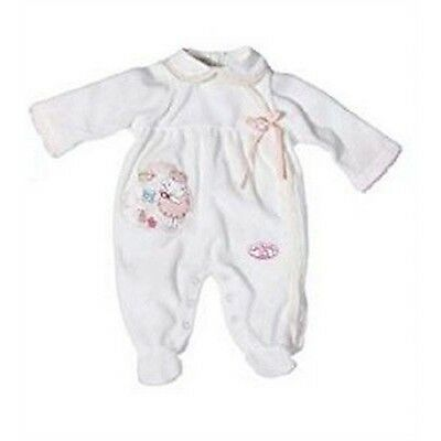 Baby Annabell Romper Collection - Cream Grow Suit Clothing Clothes Babies