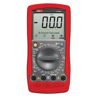 Uni-t Modern Digital Multimeter Ut58c