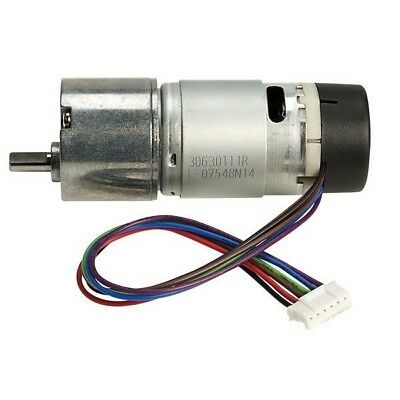 Robot Electronics EMG30 12V Motor with Encoder and 30:1 Reduction Gear Box