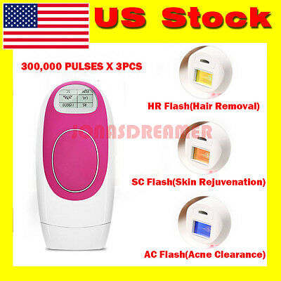 3 in 1 Laser IPL Permanent Hair Removal Machine For Face and Body Privates Hair