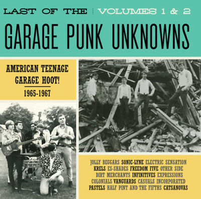 Various Artist - Last Of The Garage Punk Unknowns 1 & 2 [CD New]