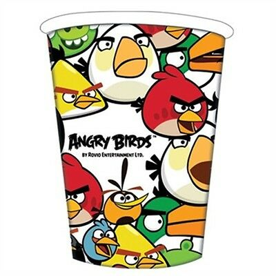 Angry Birds Party Cups - 8 - Birthday Pack