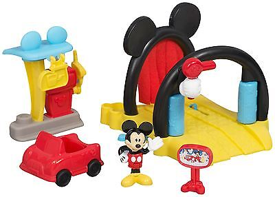 Official Disney Mickey Mouse Clubhouse Soap & Suds Car Wash by Fisher-Price NEW