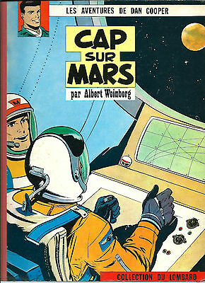 Rare 1960 Science-Fiction + Albert Weinberg + Dan Cooper : Cap Sur Mars