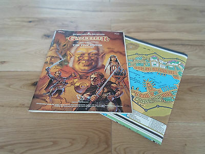 RARE D&D RPG Roleplaying Game Gazetteer The Five Shires (FINE / VERY FINE)