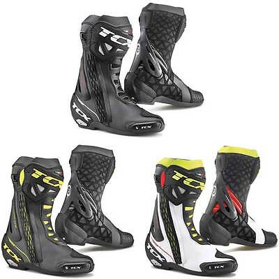 TCX RT Race RT-Race Track Racing Sports Motorcycle Boots | All Sizes & Colours