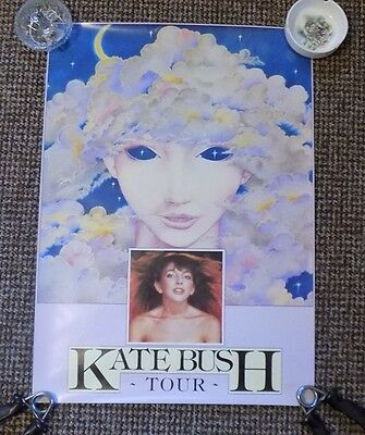 "KATE BUSH 'Tour of Life' skylady poster 1979 official & very rare 23.4"" x 16.5"""