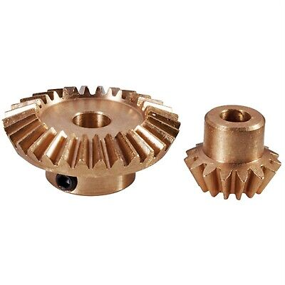 Modelcraft Brass Bevel Gear Set 2:1