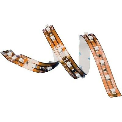 Flexible LED-Strips with series resistor Warm white 16.8 cm / 12 LEDs 12 VDC