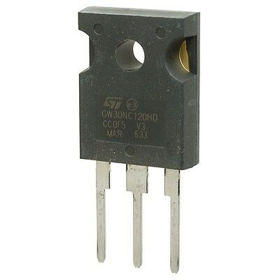 Stgw30nc120hd Igbt N 1200V 30A TO247
