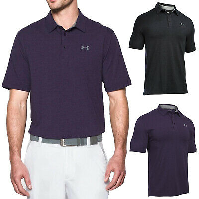 2018 Under Armour Mens Charged Cotton Scramble Polo Shirt - New UA Golf Top