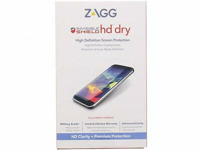 Genuine ZAGG HTC 10 InvisibleSHIELD HD Dry Screen Protector Guard Overlay CLEAR