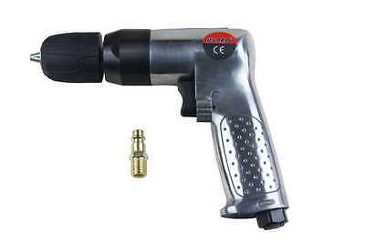"Us Pro Professional 3/8"" Keyless Reversible Air Drill Chuckless B8203"